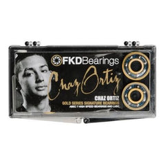 FKD Ortiz Gold Series Skateboard Bearings - Abec 7 (8 PC)