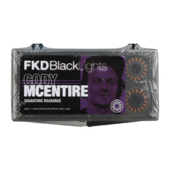 FKD Cody McEntire Blacklight Series Skateboard Bearings - Abec 7 (8 PC)