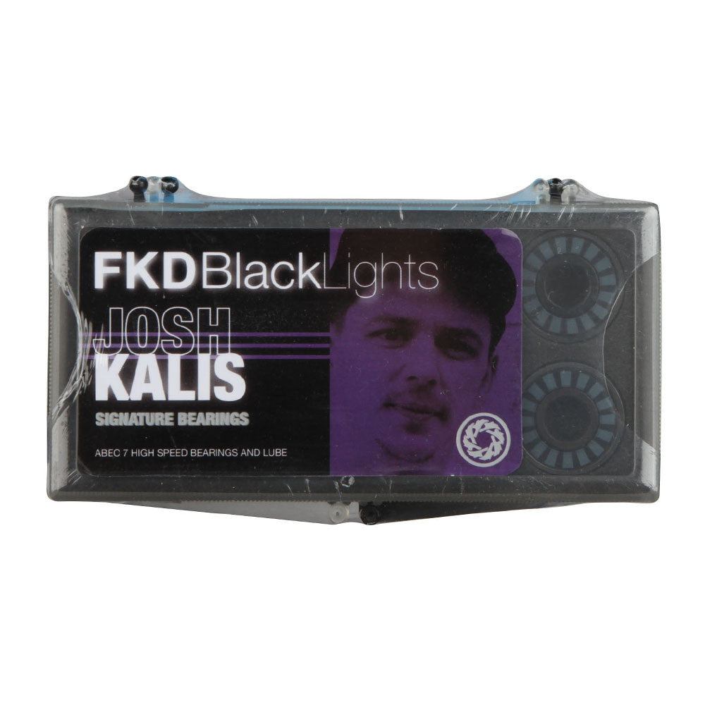 FKD Josh Kalis Blacklight Series Skateboard Bearings - Abec 7 (8 PC)