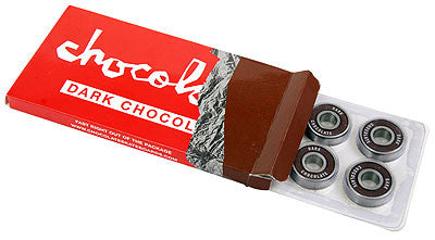 Chocolate Dark Chocolate Skateboard Bearings (8 PC)