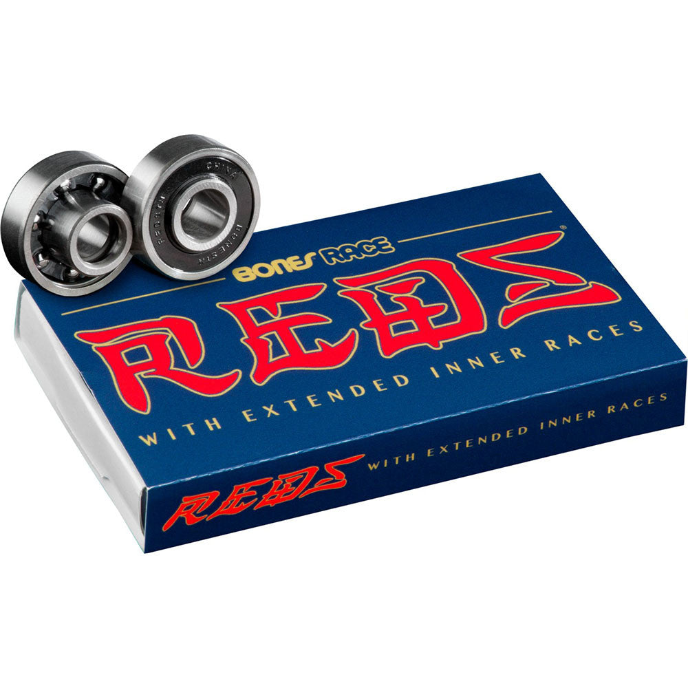 Bones Race Reds Skateboard Bearings (8 PC)