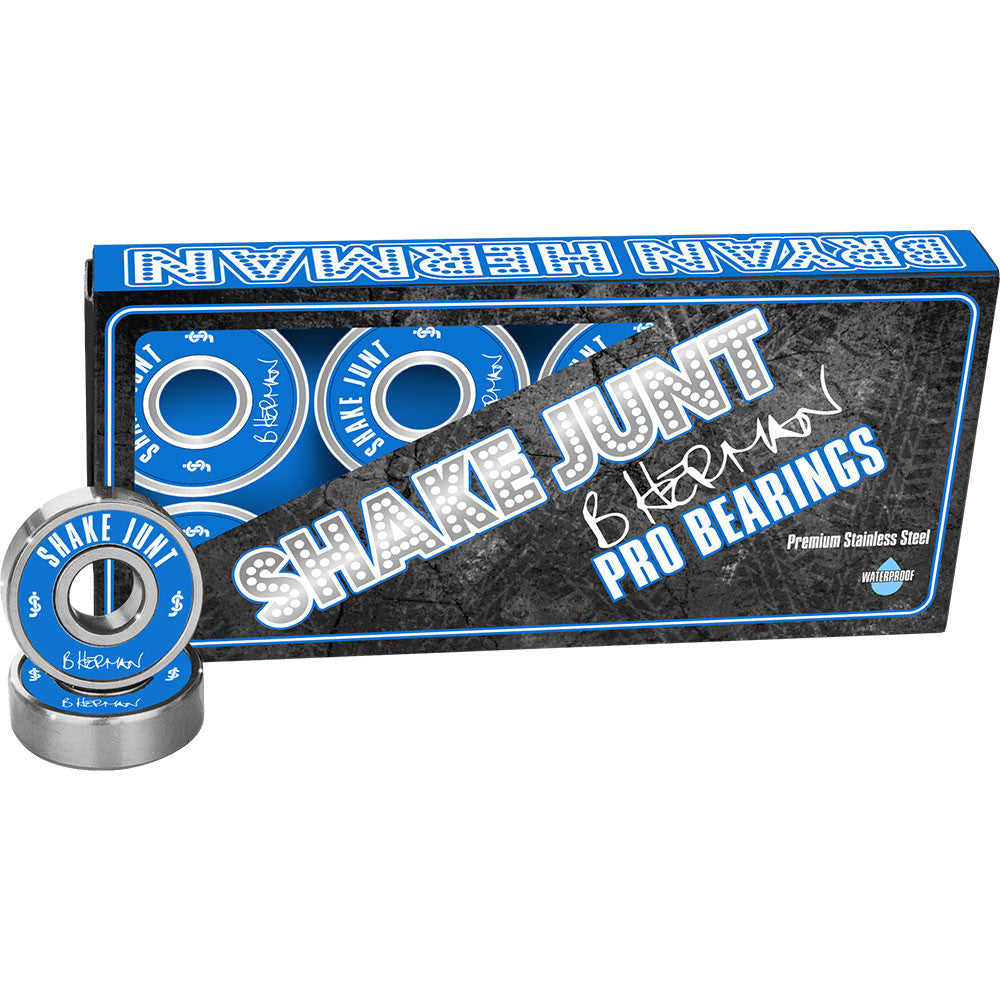 Shake Junt Herman Pro Skateboard Bearings (8 PC)