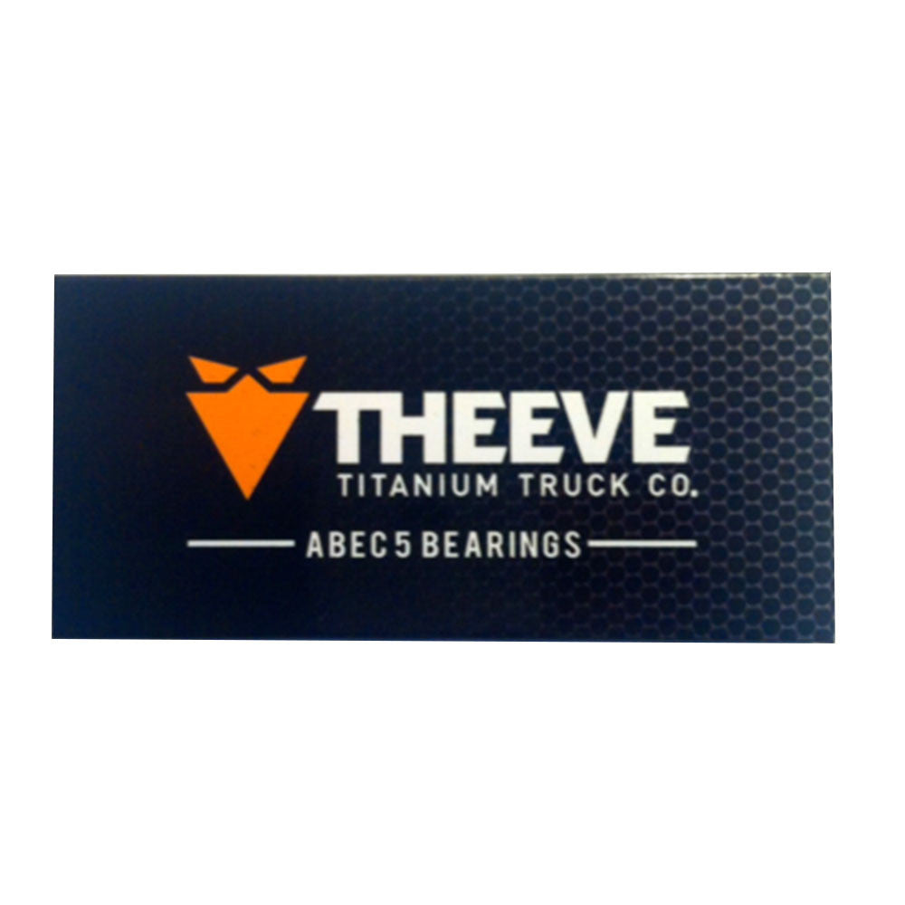 Theeve Skateboard Bearings - Abec 5 - (8 PC)