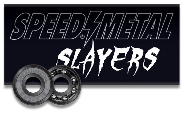 Speed Metal Slayers Skateboard Bearings - Abec 3 (8 PC)