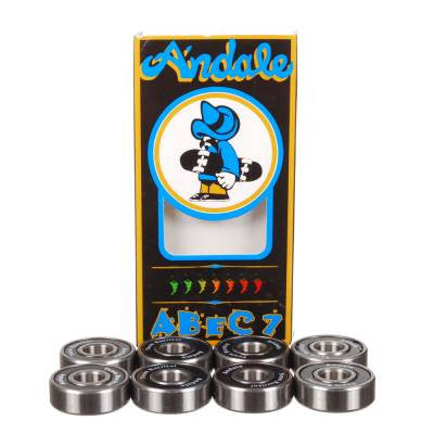 Andale Skateboard Bearings - Abec 7 (8 PC)