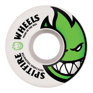 Spitfire Bighead Skateboard Wheels 59mm - White (Set of 4)