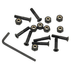 "Independent Genuine Parts Allen Skateboard Mounting Hardware - 1"" - Black"