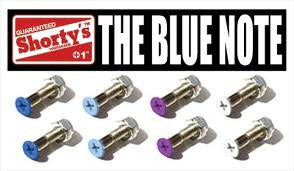 Shorty's Blue Note Phillips Skateboard Mounting Hardware - 1""