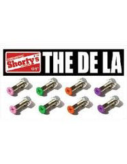 Shorty's De La Phillips Skateboard Mounting Hardware - 1""