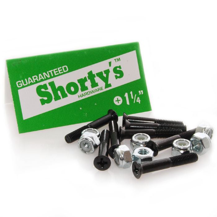 Shorty's Phillips Skateboarding Mounting Hardware - 1 1/4""