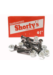 Shorty's Original Phillips Skateboarding Mounting Hardware - 1""