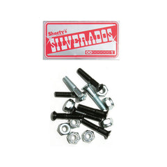 Shorty's Silverados Skateboarding Mounting Hardware - 1""
