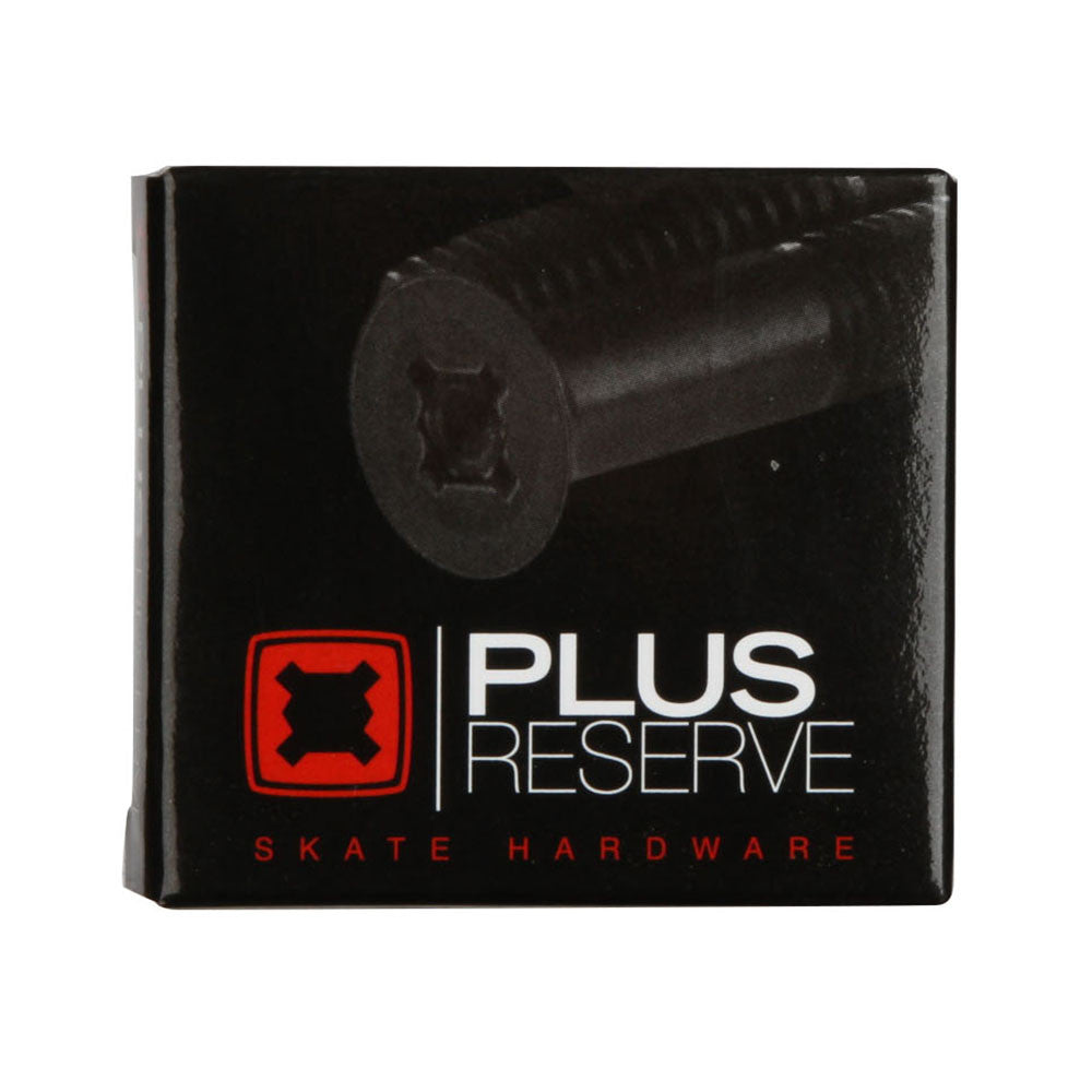 Plus Reserve Universal Skateboard Mounting Hardware - Black/Silver - 1in