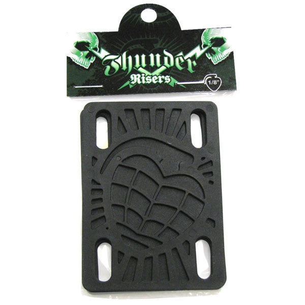 Thunder Skateboard Riser - 1/8 - Black (2 PC)