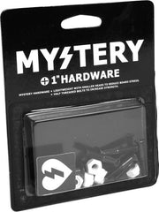 "Mystery Bolts Allen Skateboard Mounting Hardware - 1"" - Black"