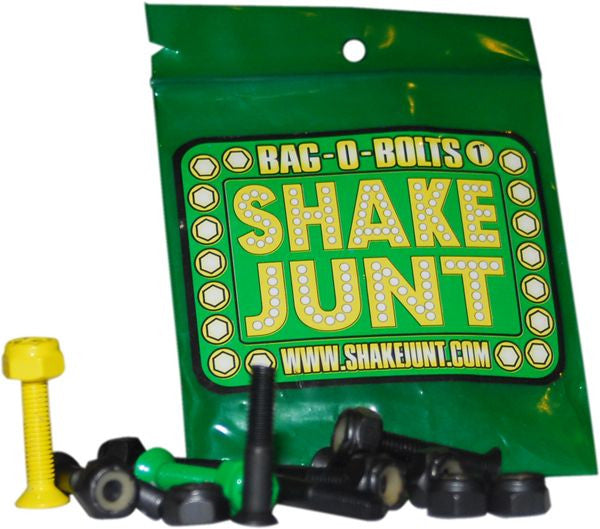 "Shake Junt Bag O' Bolts Phillips Skateboard Mounting Hardware - 1"" - Black"