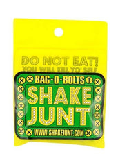"Shake Junt Bag O' Bolts Allen Skateboard Mounting Hardware - 1"" - Green/Yellow"