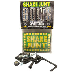 Shake Junt Bryan Herman Pro Allen Skateboard Mounting Hardware - Black - 7/8in
