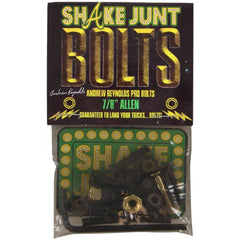 Shake Junt Andrew Reynolds Pro Allen Skateboard Mounting Hardware - Gold/Black - 7/8in