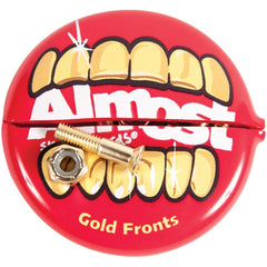 Almost Gold Nuts & Bolts in Your Mouth Allen Skateboard Mounting Hardware - 1.0in