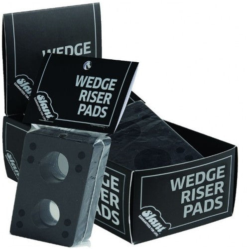 Globe Slant Wedge Skateboard Riser - Black (2 PC)