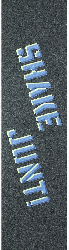 Shake Junt Skateboard Griptape - Blue/Yellow (1 Sheet)