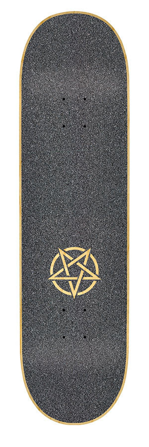Mob Laser Cut Pentagram Skateboard Griptape - 9in x 33in (1 Sheet)