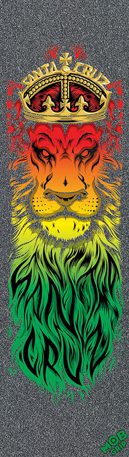 Mob Santa Cruz Lion God Skateboard Griptape - 9in x 33in (1 Sheet)