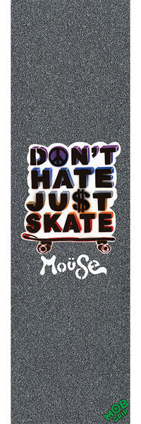 Mob Mouse Dont Hate Skateboard Griptape - 9in x 33in (1 Sheet)