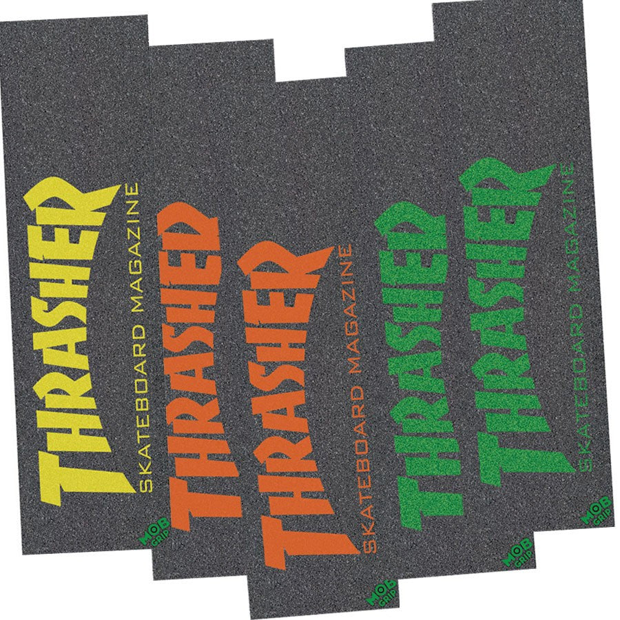 Mob Thrasher Mag Skateboard Griptape - 9in x 33in - Assorted (1 Sheet)