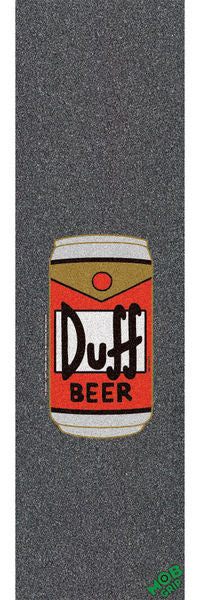 Mob Santa Cruz Duff Can 9in x 33in Skateboard Griptape - Black (1 Sheet)