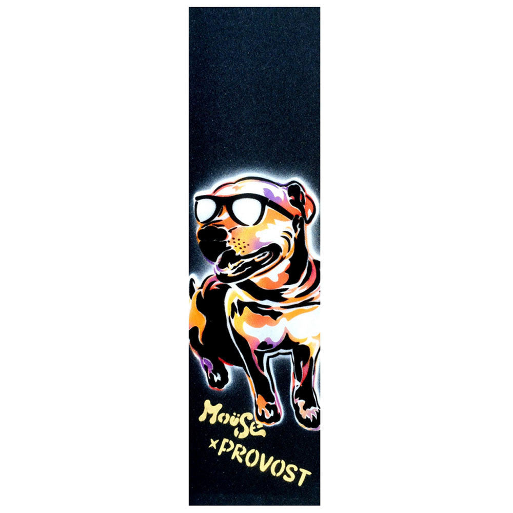 Mob Mouse Collin Provost Chief Dog Hand Sprayed 9in x 33in Skateboard Griptape (1 Sheet)