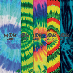 Mob  9in x 33in Skateboard Griptape - Assorted Tie Dye (1 Sheet)
