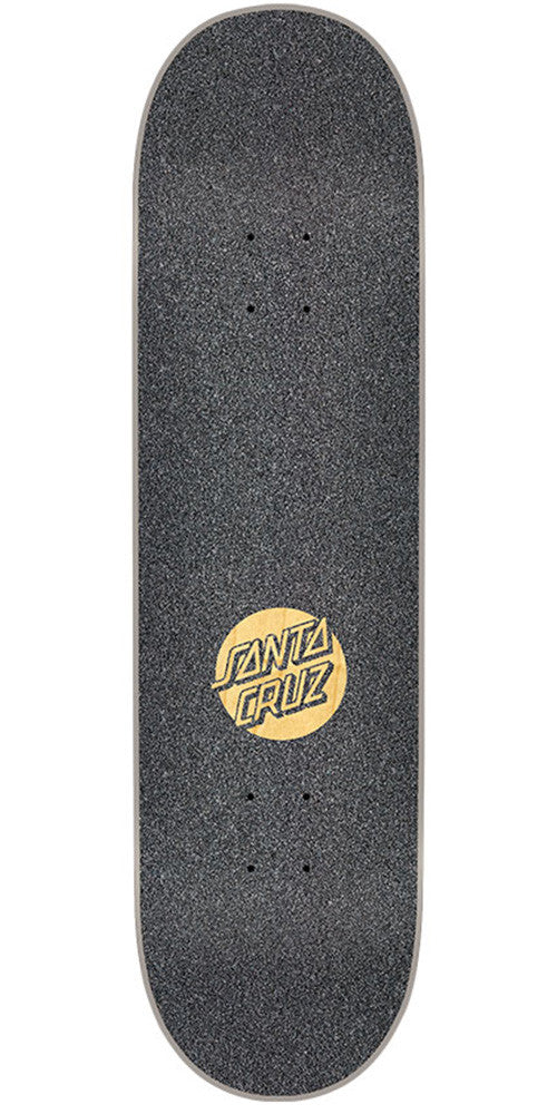 Mob Laser Cut Santa Cruz Logo  9in x 33in Skateboard Griptape - Black (1 Sheet)