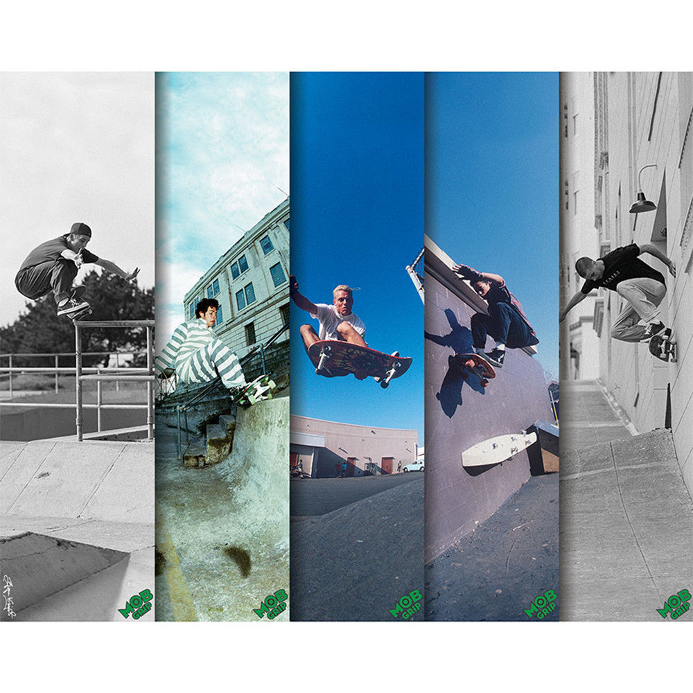 Mob Bryce Kanights Skate  9in x 33in Skateboard Griptape - Assorted (1 Sheet)