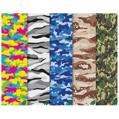 Mob Camo 9in x 33in Skateboard Griptape (1 Sheet) - Assorted