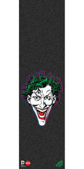 Mob Almost Joker Graphic 9in x 33in Skateboard Griptape - Black (1 Sheet)