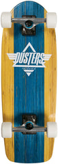 Dusters Bogue Cruiserboard Complete Skateboard - 27 - Blue/Yellow