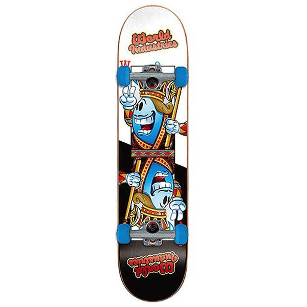 World Industries One Eye Willy Complete Skateboard - 7.5 - Black/White