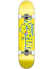 World Industries Lemon Slice Complete Skateboard - 7.9 - Yellow