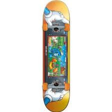 World Industries Farmer Will-E Complete Skateboard - 7.6 - Orange