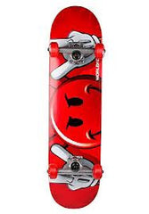World Industries Peeking Devilman Complete Skateboard - 7.6 - Red