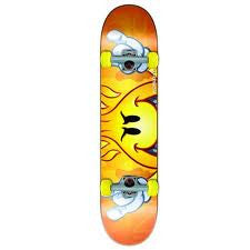 World Industries Peeking Flameboy Complete Skateboard - 7.5 - Orange