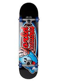 World Industries Looney Wet Willy Complete Skateboard - 7.75 - Black