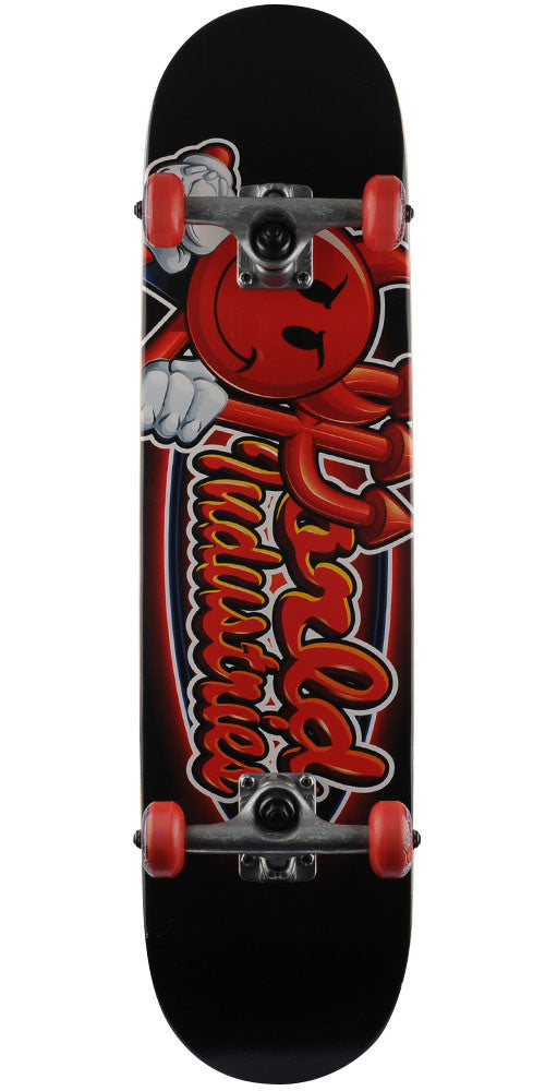 World Industries Looney Devil Man Complete Skateboard - Black - 7.875in x 31.25in