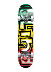 Blind Exodus Rasta Complete Skateboard - 7.8 - Green/Yellow/Red