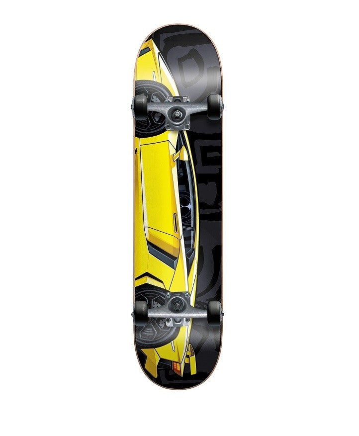 Blind Sports Car Mid Complete Skateboard - 7.9 - Black/Yellow