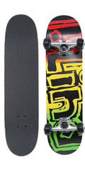 Blind Rasta Youth Complete Skateboard - 7.3 - Rasta