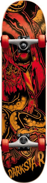 Darkstar Undead FP Youth Complete Skateboard - 7.3 x 29 - Red
