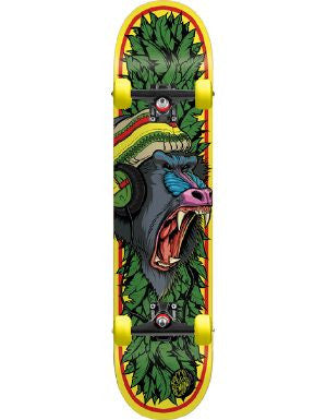 Speed Demons Roots Ape Complete Skateboard - 7.9 - Yellow